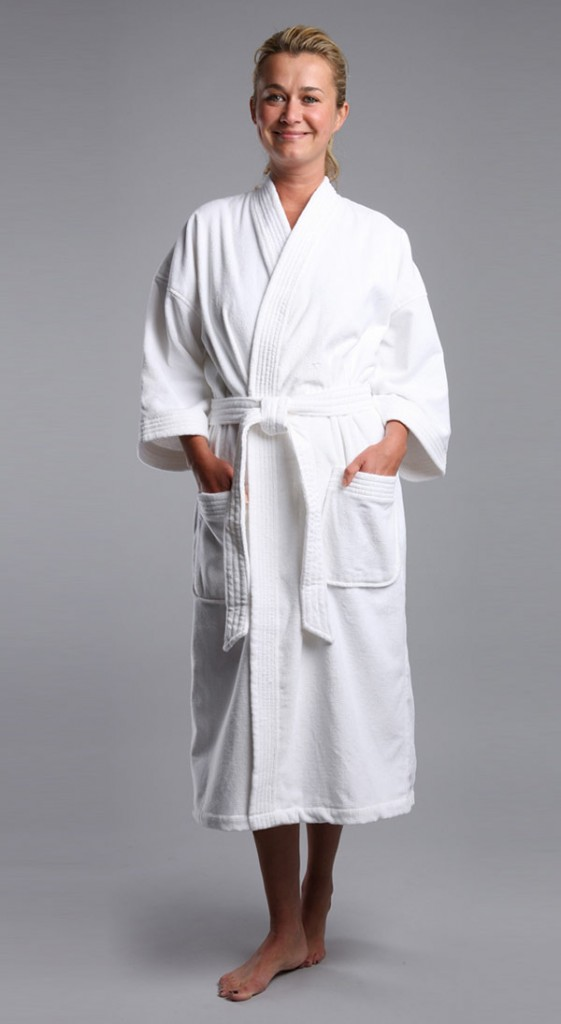 Terry Velour Robe